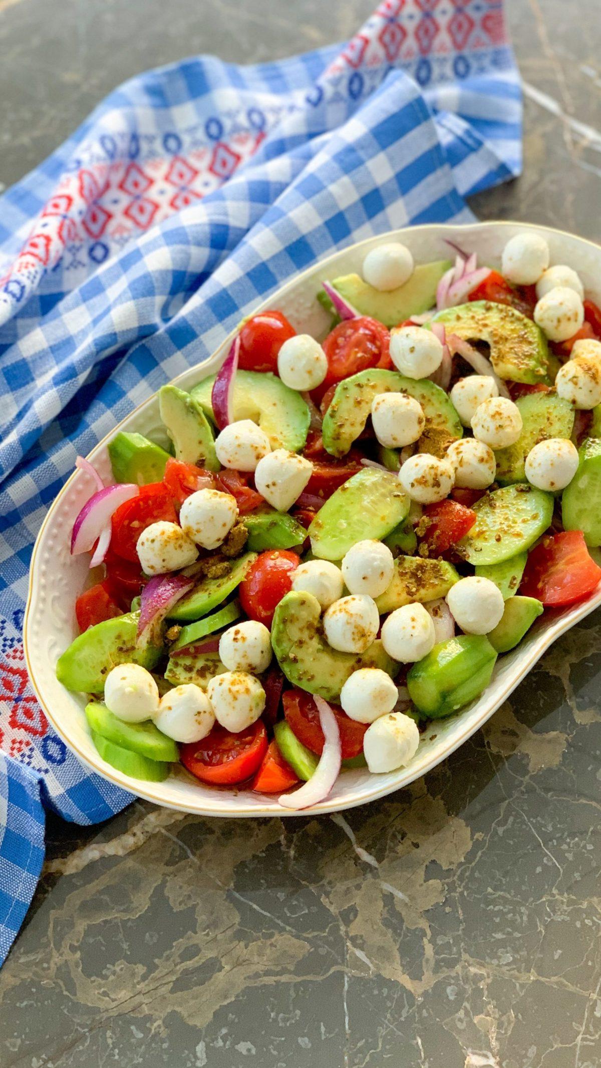 Schneller Caprese Salat