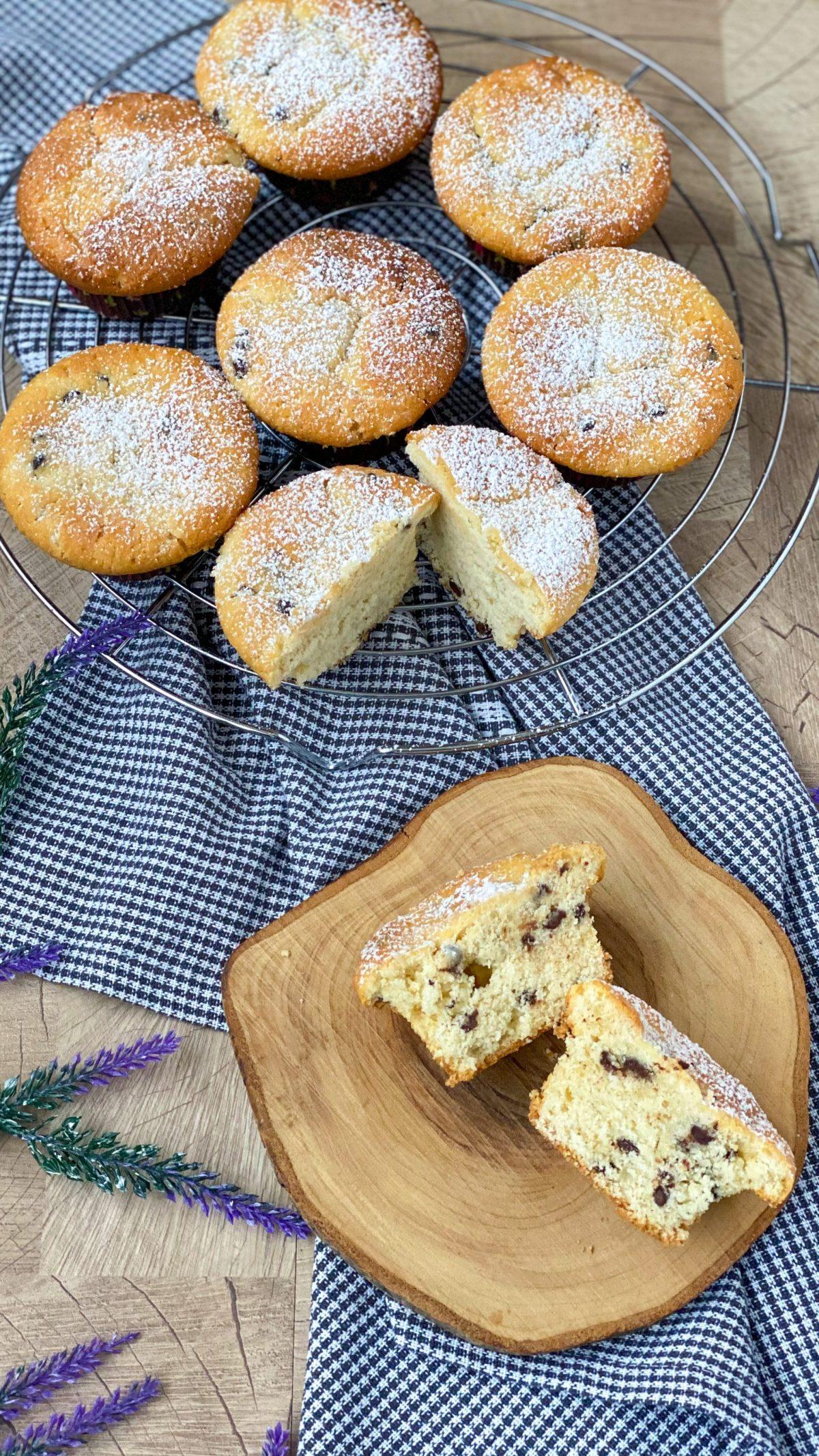 Muffin mit Schokostückchen